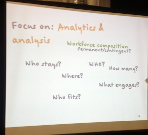 Be analytical